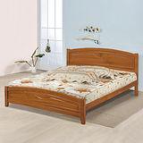 《Homelike》夏爾實木床架組-雙人加大6尺
