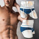 法國名牌彈力棉素色運動三角褲(M~XL)