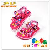 [GP]快樂童鞋-可愛動物圖案涼鞋-G5935B-45(桃紅色)共有四色
