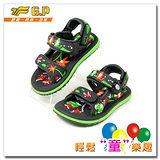 [GP]快樂童鞋-可愛動物圖案涼鞋-G5935B-60(綠色)共有四色