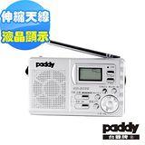 台菱AM/FM雙波段時鐘收音機GR-6039
