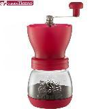 Tiamo 0925密封罐陶瓷磨豆機(桃紅色) HG6149PK