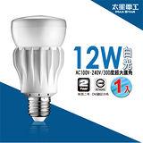 【太星電工】大廣角LED燈泡12W/白光(1入) A512W.