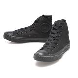 CONVERSE(男/女)基本款高筒休閒鞋-黑-M3310C