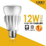 【太星電工】大廣角LED燈泡12W/暖白光(1入) A512L.