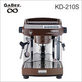 GABEE. KD-210S義式半自動咖啡機(咖啡色) 110V (HG0959BR)