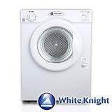 「享購物金再折抵」White Knight 3kg滾筒乾衣機 白 英國原裝 福利品(贈基本安裝)