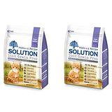 SOLUTION耐吉斯 成幼貓 低敏護毛配方 精選鱒魚&深海鮭魚 3磅 x 2包