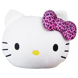 【享夢城堡】Hello Kitty 豹紋系列-頭型抱枕被