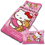【享夢城堡】HELLO KITTY 我愛麻吉熊系列-兒童睡袋
