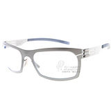 IC BERLIN眼鏡 德國薄鋼#寬銀IC MODEL URBAN CHROME