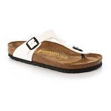 BIRKENSTOCK 543761。GIZEH吉薩 夾腳拖鞋(白)