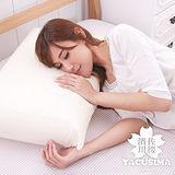 【日本濱川佐櫻-和風素雅】大尺寸AA級蜂巢平面天然乳膠枕-1入