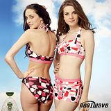 【Heatwave熱浪】 亮麗時尚 萊克三件式泳裝