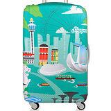 LOQI 行李箱外套│新加坡【S 號】