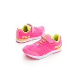 FILA(童)復古MD慢跑鞋-桃-3J404P299