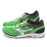 MIZUNO男款 WAVE SPACER DYNA 2超輕路跑鞋J1GA157603-綠