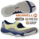 【美國 MERRELL】女新款 ALLOUT BOLD 都會休閒健走鞋/防水透氣鞋.運動鞋.娃娃鞋.輕量.適自行車.健走慢跑(非Nike) 黃/灰 J21658