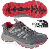 【美國 The North Face】ULTRA 50 GTX XCR 男款Gore-Tex防水透氣超輕越野跑鞋.慢跑鞋.登山鞋.越野鞋.健行鞋 A1NJ 鋅灰/紅