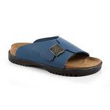 勃肯Betula 720213。SLIDE 2 大寬版拖鞋(寶藍色)