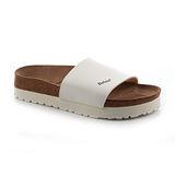 勃肯Betula 721363。REGGAE雷鬼 寬版拖鞋(白)