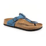 勃肯Betula 734193。RAP BF夾腳拖鞋(藍底花)