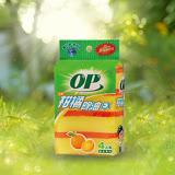 ★2件超值組★OP 柑橘除油鑽石晶砂海棉菜瓜布4入