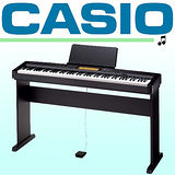 【CASIO 卡西歐】簡約風多功能88鍵數位鋼琴/含琴椅/琴罩/耳機-公司貨保固 (CDP-230)