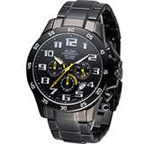 ALBA 雅柏 潮流型男時尚計時腕錶 VD53-X174SD AT3727X1
