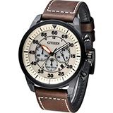 星辰 CITIZEN 光動能飛行風格計時腕錶 CA4215-04W