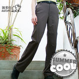 【RATOPS】女款 彈性快乾休閒長褲.輕薄、強韌、舒適、耐磨/ 暗棕褐色 DA3176 B