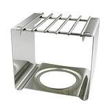 寶馬牌四方型不鏽鋼爐架白鐵爐架可搭迷你小瓦斯爐登山爐使用