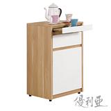 【優利亞-羅尼雙色】1.5尺收納櫃