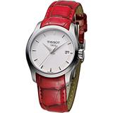 天梭 TISSOT Couturier 建構師系列 女用時尚腕錶 T0352101601101