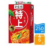 御茶園極上紅茶250ml*6