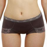 【LADY】魔力機能調整型 中腰三角貼身褲(夜光灰)