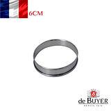 法國【de Buyer】畢耶烘焙『不鏽鋼氣孔塔模系列』6公分塔模