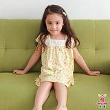 【Anny pepe】西瓜短袖洋裝/黃色(莫代爾)