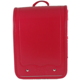 【VISO】寶貝之翼 MiNi 系列 手工護脊背包 - 蘋果紅