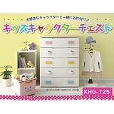 【IRIS】日本知名品牌 Hello Kitty 五層收納櫃^^KHG-725H