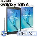 Samsung GALAXY Tab A 9.7 16GB WIFI版 (SM-P550) 9.7吋 S Pen四核心平板電腦(白色)【送羅技藍芽鍵盤(市價$1490)+螢幕保貼】