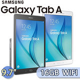 Samsung GALAXY Tab A 9.7 16GB WIFI版 (SM-P550) 9.7吋 S Pen四核心平板電腦(白)【送螢幕保護貼】