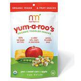 美國 Nurturme 小袋鼠有機綜合蔬果小點心 有機豌豆,甜玉米,蘋果 28g/包