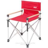 【美國Coleman】輕鬆導演椅.鋁合金休閒椅.折疊椅.野餐椅.露營椅/附收納袋/CM-3107 豔陽紅