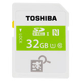 TOSHIBA 32GB NFC SDHC UHS-I C10 快速記憶卡(平行輸入) - 加送萬用保護貼