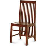 【椅吧】現代日式禪風設計實木餐椅