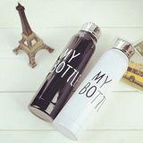 【PS Mall】熱銷My bottle不銹鋼真空保溫杯 黑色+白色各1個 (J812)