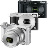 Nikon 1 J5 10-30mm KIT單鏡組(公司貨)-加送64G卡+專用鋰電池X2+防潮箱+大吹球清潔組+拭鏡筆+專用相機包+水晶UV保護鏡(保護鏡頭防止刮傷)