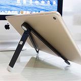 鋁合金多角度 iPad 平板支架桌架(黑)