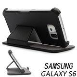 三星 Samsung GALAXY S6 G9208/ SM-G9208 專用側掀式可斜立筆記本皮套 保護套